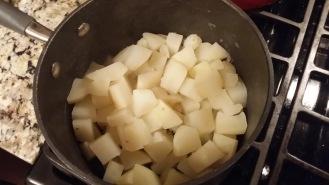 Mashed Potatoes boiled