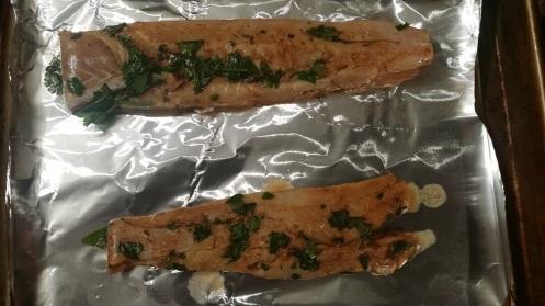 fish tacos pre bake