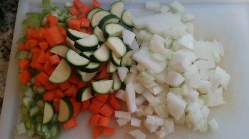 Lentil soup veg