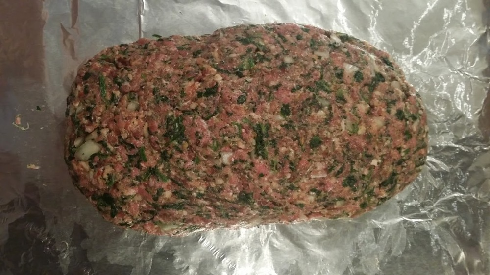Meatloaf Raw