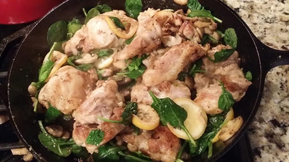 picata spinach