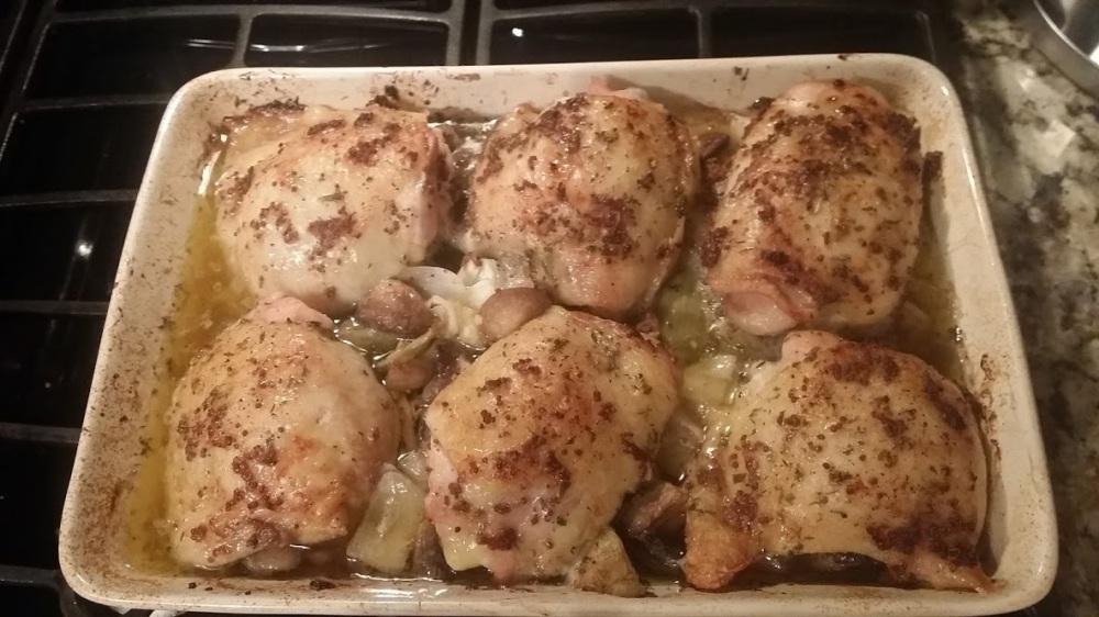 artichoke chicken baked