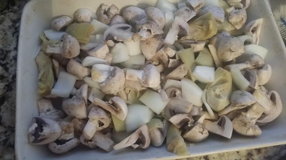 artichoke chicken veg