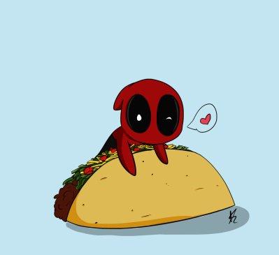 deadpool taco heart