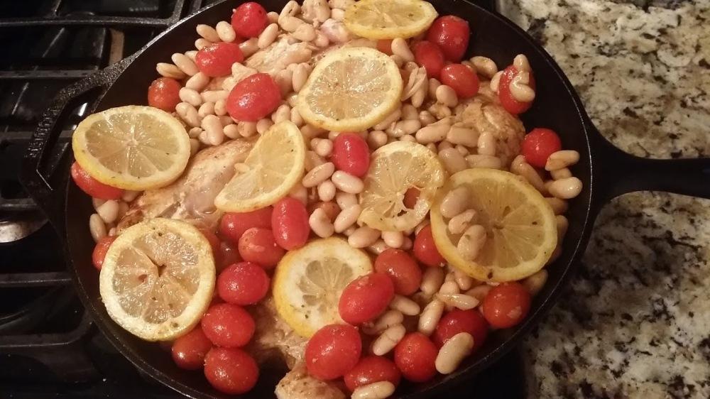 Mediterranean Chicken pre roasting