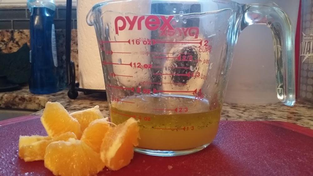 Salad Orange Juice