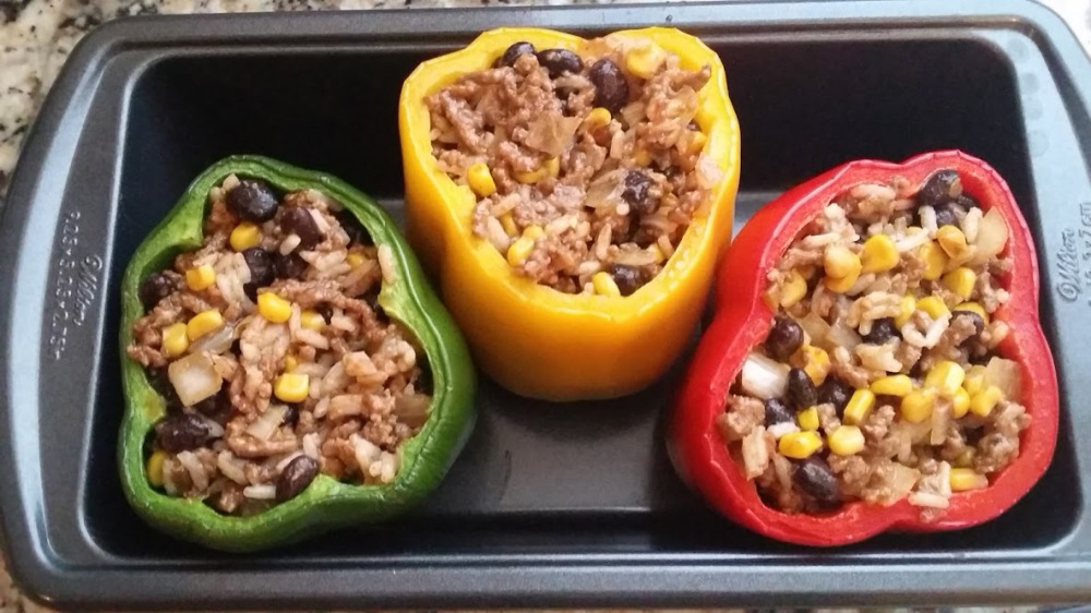 Taco Stuffed Peppers Prebaked