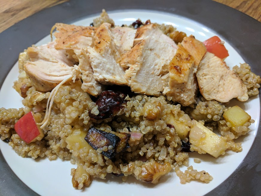 quinoa-and-chicken