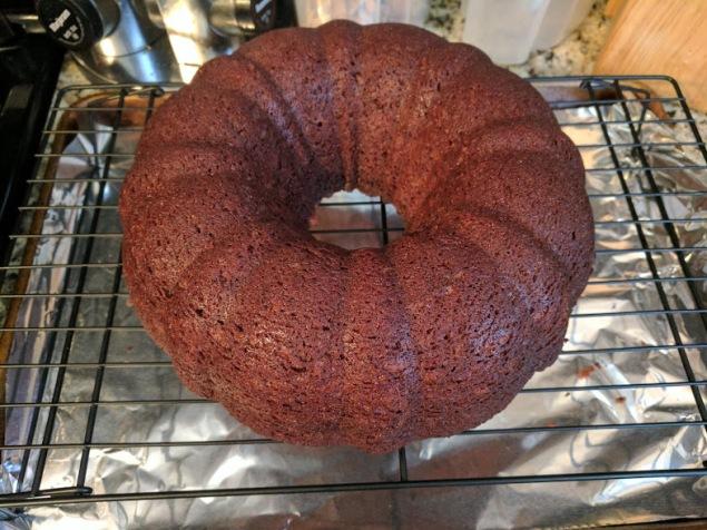 Orange Chocolate Cake done